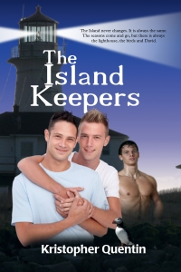THE ISLAND KEEPERS FRONT COVER