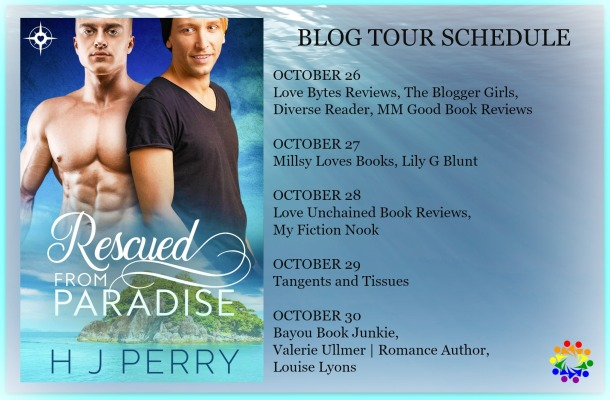 Blog Tour: Interview, Exclusive Excerpt & Giveaway -- HJ Perry - Rescued from Paradise
