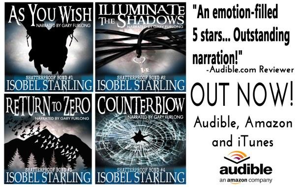 Author Spotlight and Series Blast::  Shatterproof Bond Series by Isobel Starling