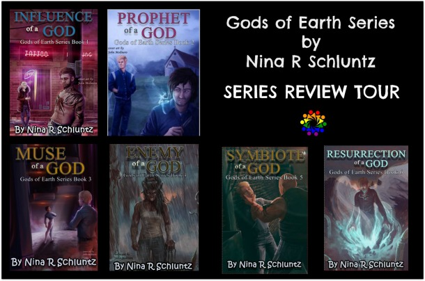 Gods Of Earth Series by Nina R Schlutz :: Series blog Tour::